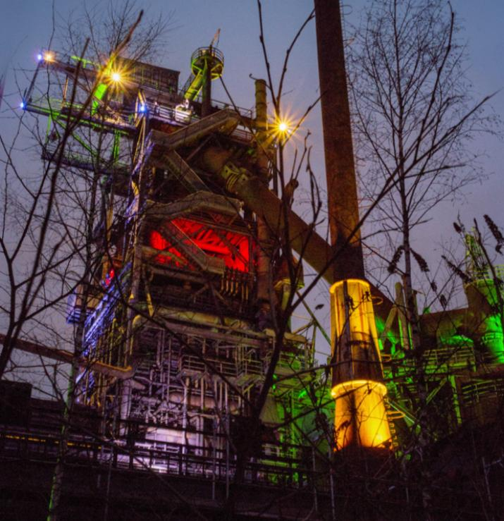 Industriefotografie im Ruhrgebiet von Michael Böttcher